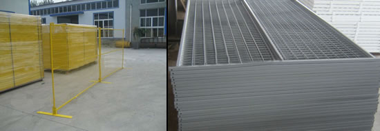 Temporary Fence -Welded Mesh and Tubular Fence Panels