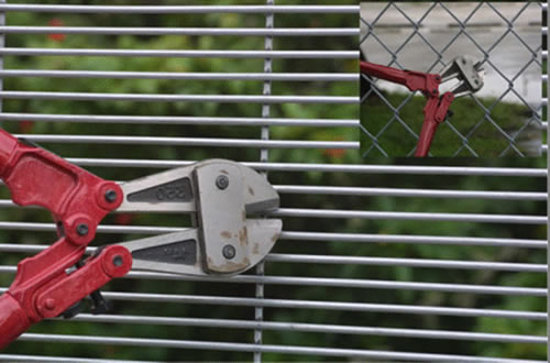 358 Welded Mesh High Security Fence Panels For Prison And