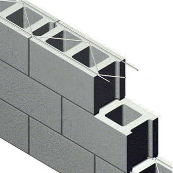 Truss Type Welded Mesh Units For Joint Reinforcement