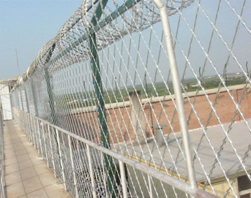 Galvanized Welded Razor Wire Mesh Panels For High Security
