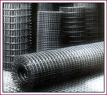 Welded wire mesh fabric roll